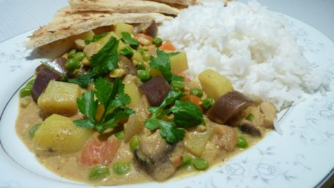Recept: Vegetariánská korma