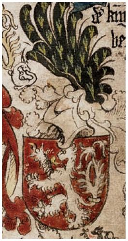 znak českého krále