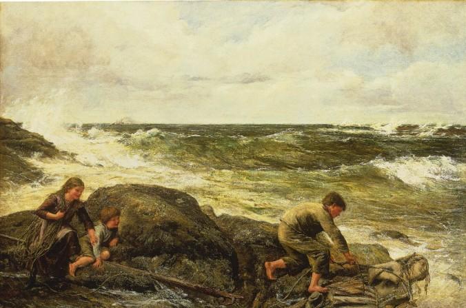 """Obraz """"Chycení mořské pany"""""""