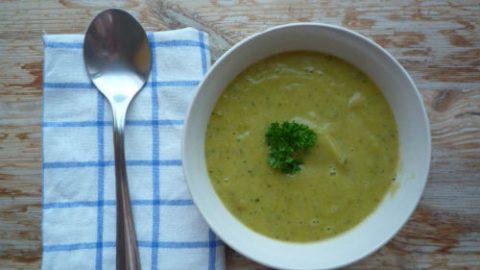 Cuketová polévka – recept: zdravě, rychle, báječně