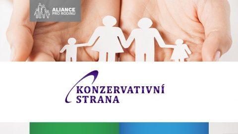 Konzervativní strana se připojila kvýzvě parlamentu, aby podpořil ústavní definici manželství aodmítl zavádění genderové ideologie do škol