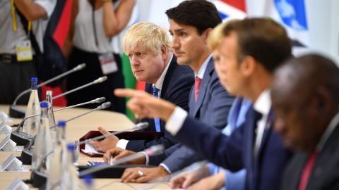 Lídři G7 vyjádřili podporu Hongkongu, čínský režim je za to ostře zkritizoval