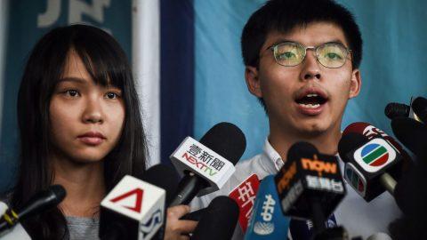 Představitelé USA aEU vyjadřují nesouhlas se zatčením aktivistů vHongkongu