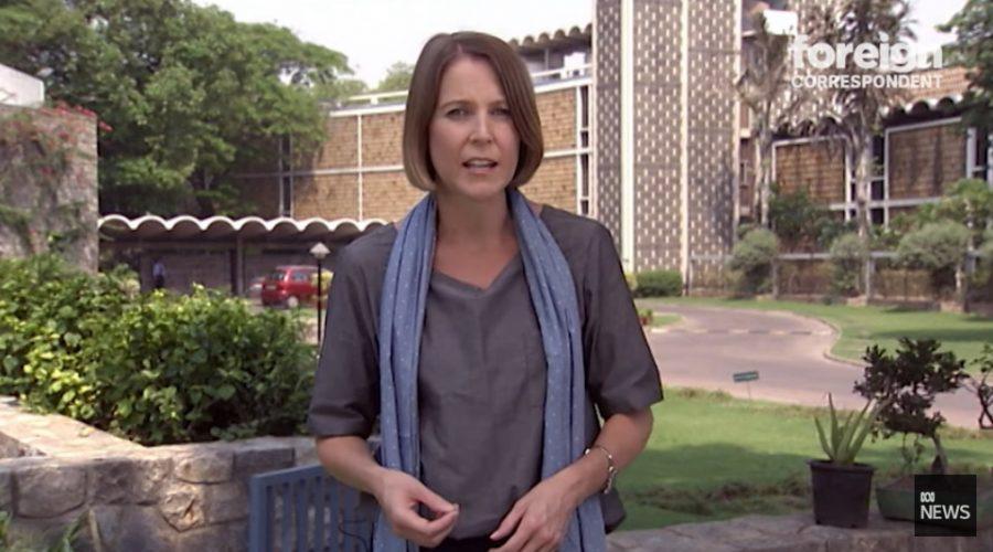 Reportáž stanice ABC v sekci Foreign Correspondent vedená zahraniční dopisovatelkou Samanthou Hawleyovou (na fotografii). (Screenshot / YouTube)