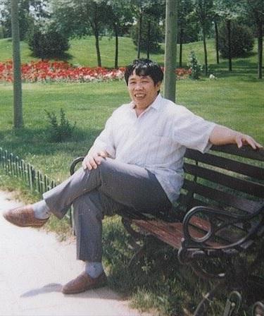 Starší fotografie otce slečny Chan Jü, pana Chan Ťün Čchinga. (foto poskytla Chan Jü)