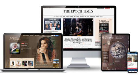 Newyorská redakce deníku Epoch Times spustila digitální předplatné