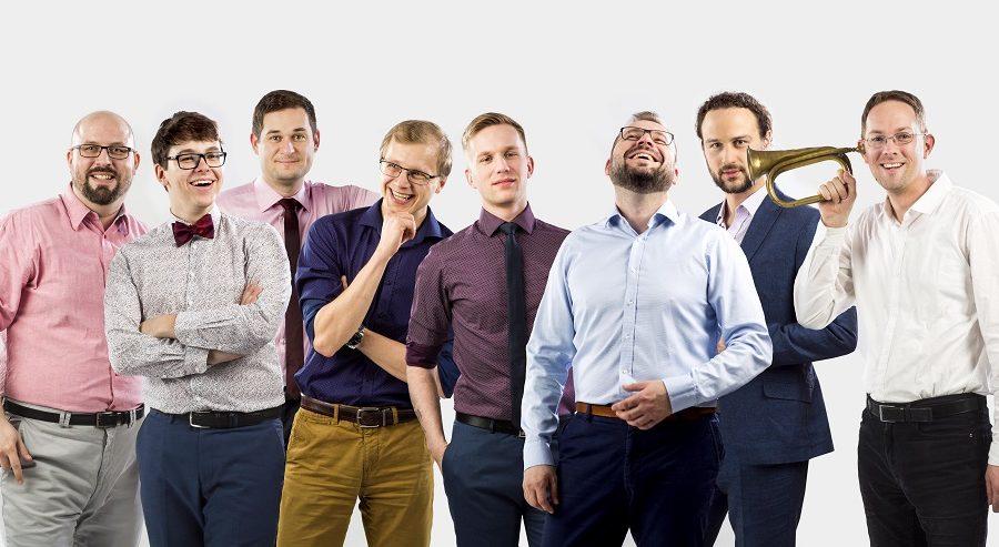 Večerem bude diváky provázet mužský vokální soubor Gentleman singers. (gentlemensingers.cz)