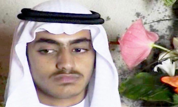 Hamza bin Ládin – syn nechvalně slavného Usámy. (Screenshot / Video via CNN)