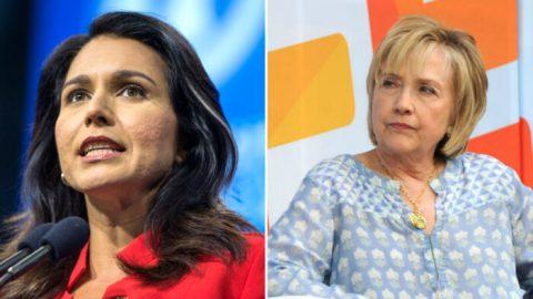 Kandidátka na prezidentku Gabbardová chce Demokratickou stranu zbavit Clintonové azkorumpovaných elit
