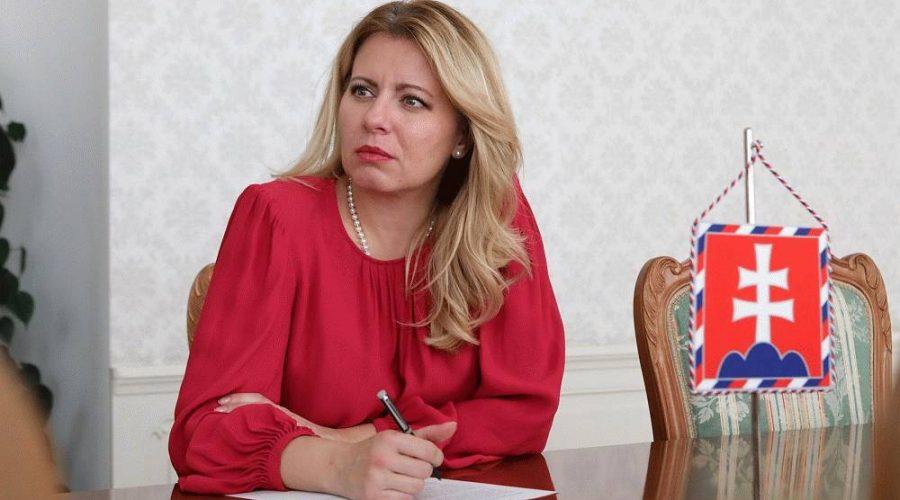 Slovenská prezidentka Zuzana Čaputová se vyjádřila k aktuálnímu dění, 16.10.2019. (prezident.sk)