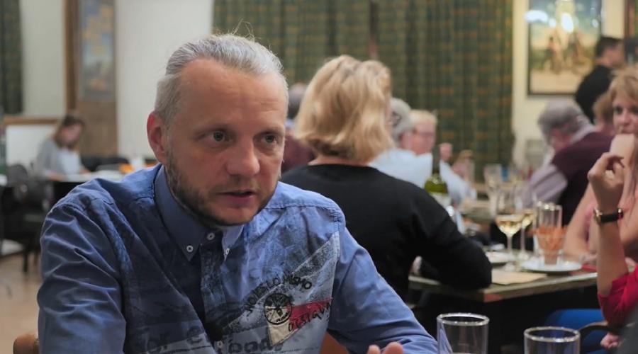 Rozhovor deníku Epoch Times s producentem snímku Fany a pes Martinem Vandasem. (Michal Kováč / Epoch Times)