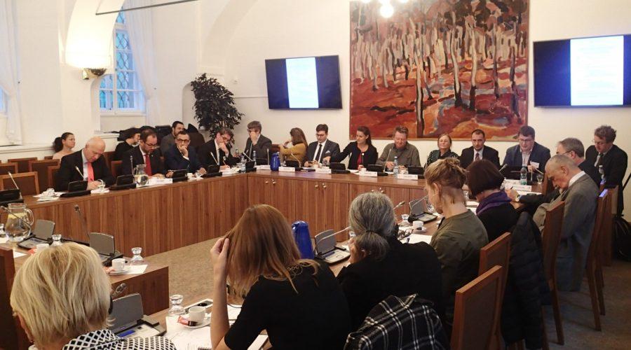 Konference Čína v kontextu mezinárodních vztahů v Poslanecké sněmovně, 7. října 2019. (Milan Kajínek / Epoch Times)