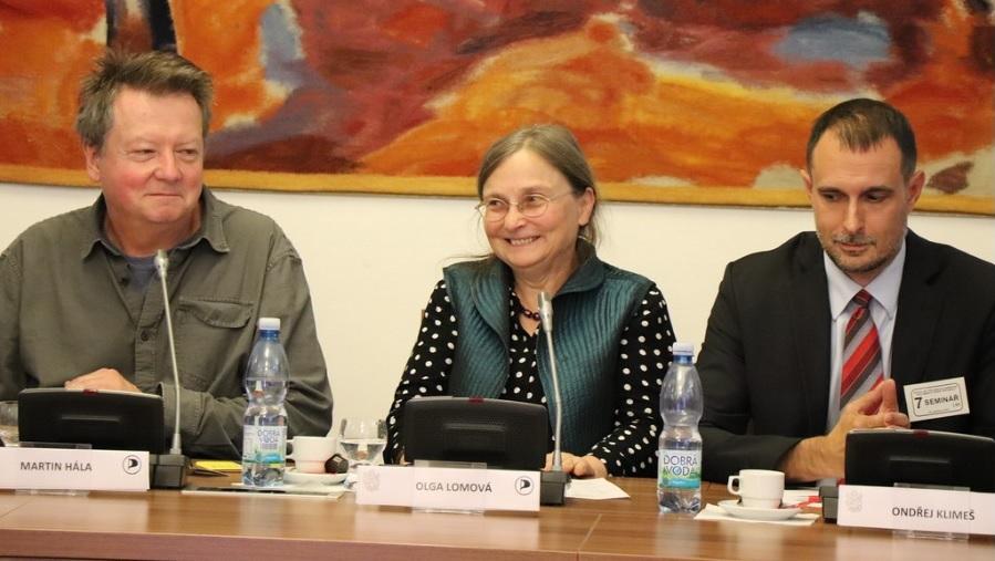Konference Čína v kontextu mezinárodních vztahů v Poslanecké sněmovně, 7. října 2019. (Se svolením Pirati.cz)