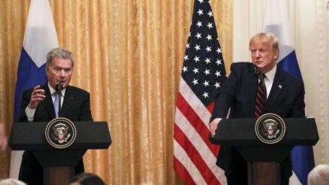 USA aFinsko utužují vztahy votázkách Arktidy a5G technologií