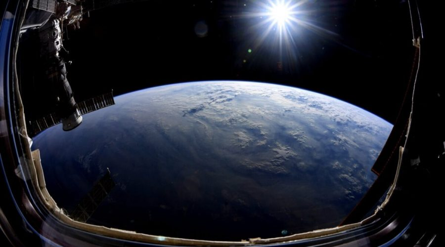 Pohled na Zemi z vesmíru
