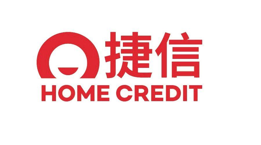 Čínsko-jazyčná verze loga společnosti Home Credit. (Screenshot)