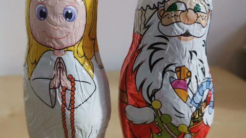 Pozor na mikulášské figurky vobchodech – ne všechny jsou opravdu zčokolády