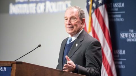 Michael Bloomberg oznámil kandidaturu na prezidenta USA