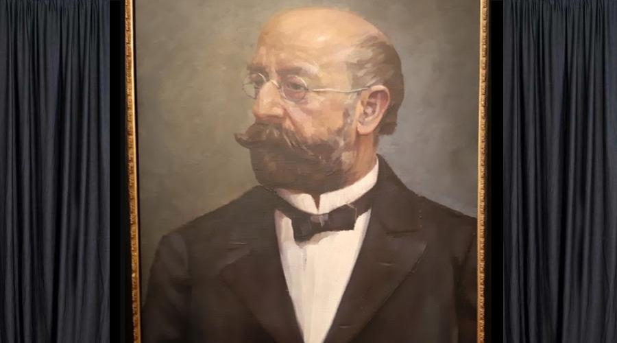 Výstava olejomaleb připomene návštěvníkům, že v Jihlavě žil a tvořil Hans Canon. (Z. Danková / Epoch Times)