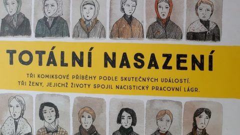 Totální nasazení: Komiksová kniha vruském jazyce byla pokřtěna vDen lidských práv