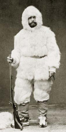 Jako polárník. (wissenschaftskalender.at)