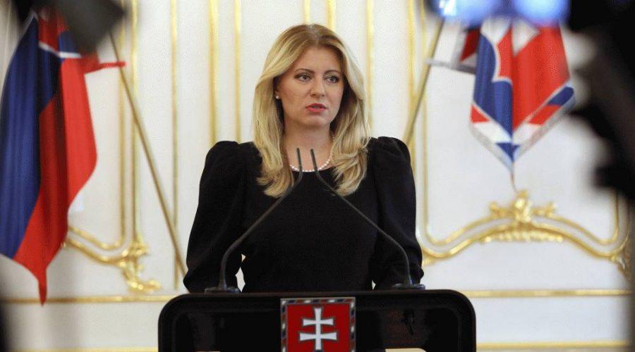 Prezidentka Čaputová udělila podmíněnou milost otci tří malých dětí. (prezident.sk)