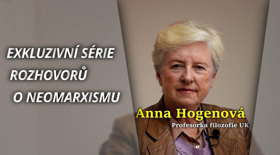 Exkluzivní rozhovor s profesorkou Annou Hogenovou - neomarxismus na českých vysokých školách. (Michal Kováč / Epoch Times)