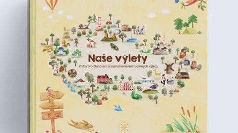 Naše výlety – kniha, do které můžete zapisovat své výlety ivy