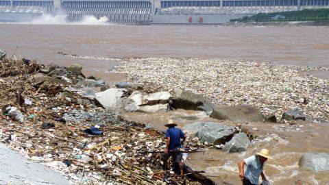 Čínské řeky jsou hlavním zdrojem plastů vtékajících do oceánů
