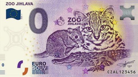 Zoo Jihlava tiskne podobu svých tří zvířat na sběratelské bankovky