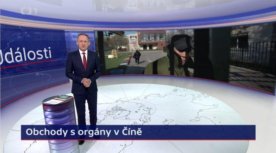 Transplantace Cina Falun Gong Ujgurove Krestane Tibetane Ceska Televize