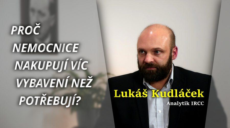 Rozhovor o obsahu analytické zprávy s ředitelem institutu IRCC Lukášem Kudláčkem. (Michal Kováč / Epoch Times)