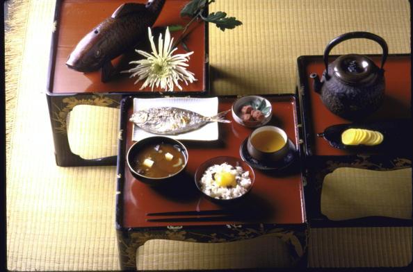 snídaně s umeboshi