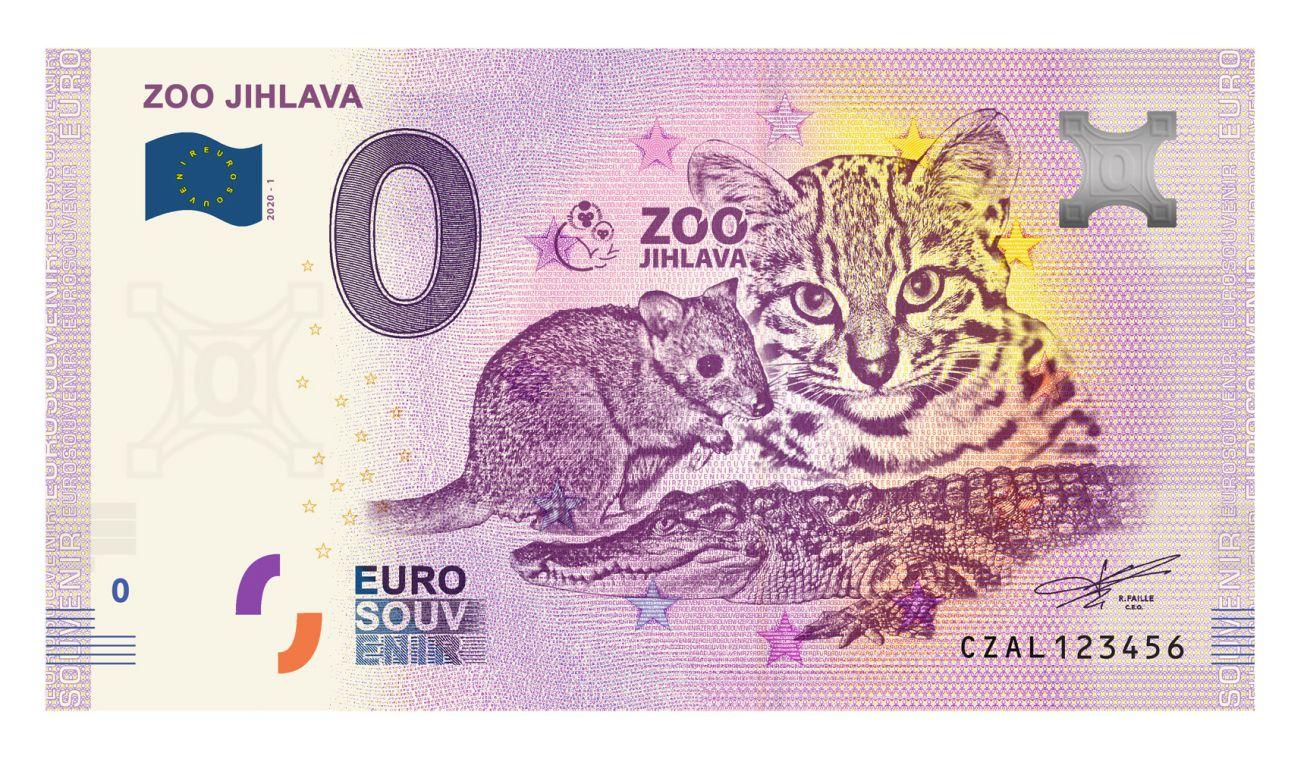 Zoo Jihlava klokánek bankovka