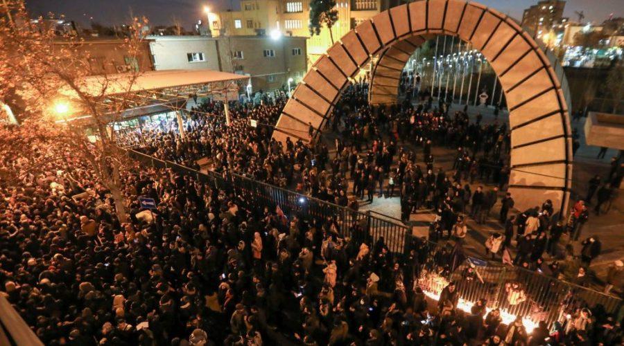 protest Írán