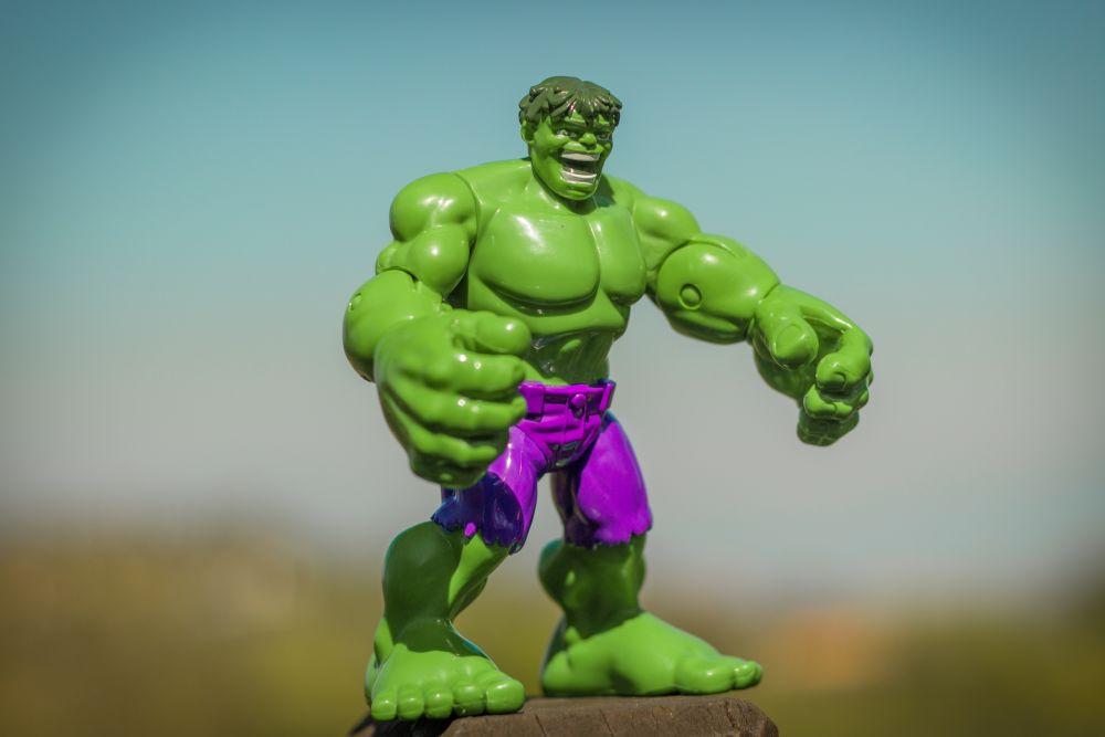 Hulk hracka