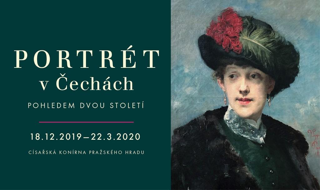 Portrét v Čechách pohledem dvou staletí. (Hrad.cz)