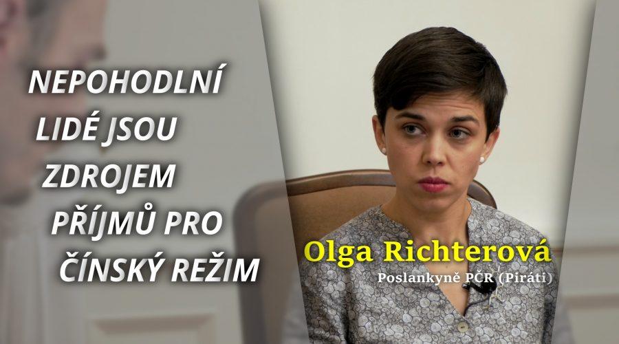 Rozhovor s místopředsedkyní Pirátské strany paní Olgou Richterovou. (Michal Kováč / Epoch Times)