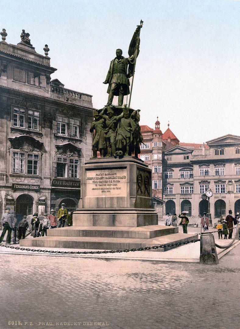 socha maršála Radeckého v Praze