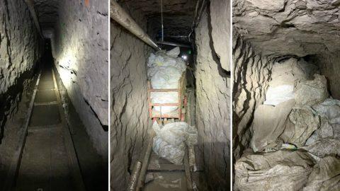 Na americko-mexické hranici byl objeven nejdelší pašerácký tunel vhistorii