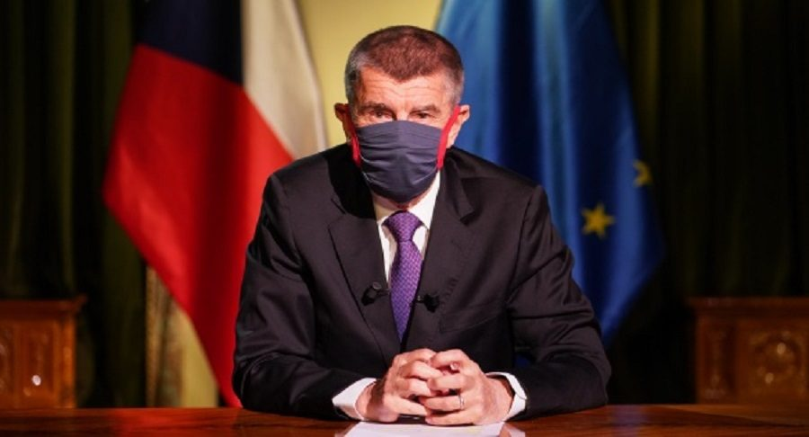 Speech of Andrej Babiš to all citizens, March 23, 2020. (Vlada.cz)