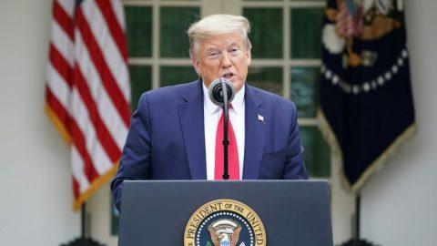 Trump zastaví financování WHO za selhání vsouvislosti sCOVID-19