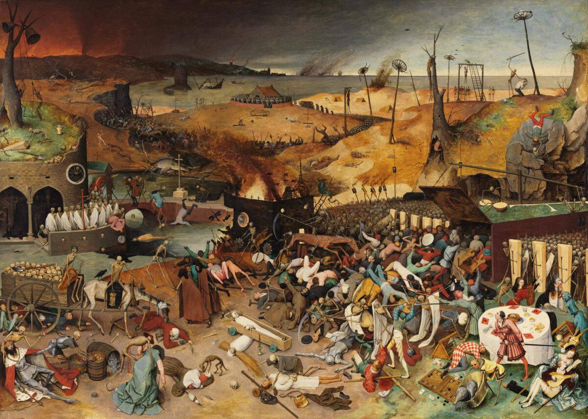 """""""Vítězství smrti"""", obraz od Pietera Bruegela"""