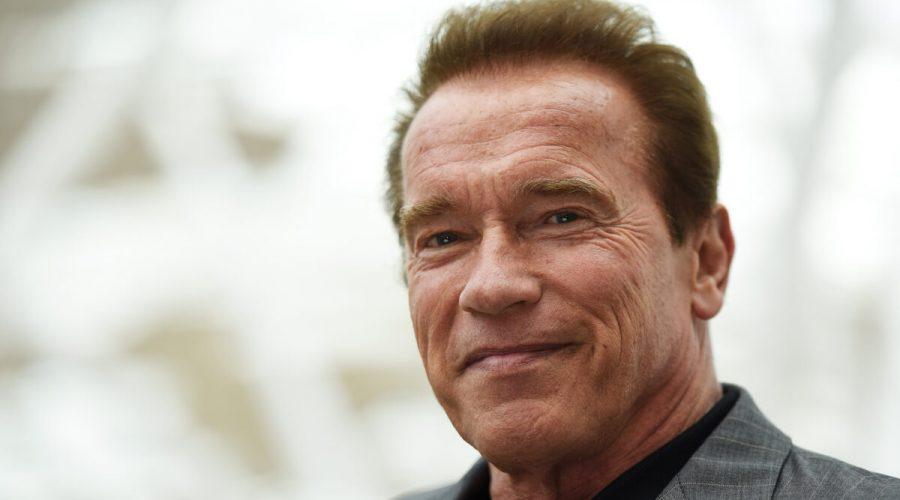 Ikona akčního filmu, bývalý americký guvernéra a Mr. Olympia, Arnold Schwarzenegger, červen 2015 (©Getty Images | Ben A. Pruchnie)