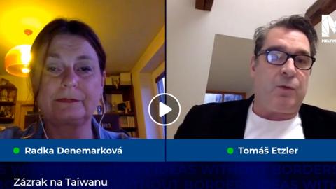 Tomáš Etzler vrozhovoru sRadkou Denemarkovou: Jak Tchaj-wan zvládl boj skoronavirem