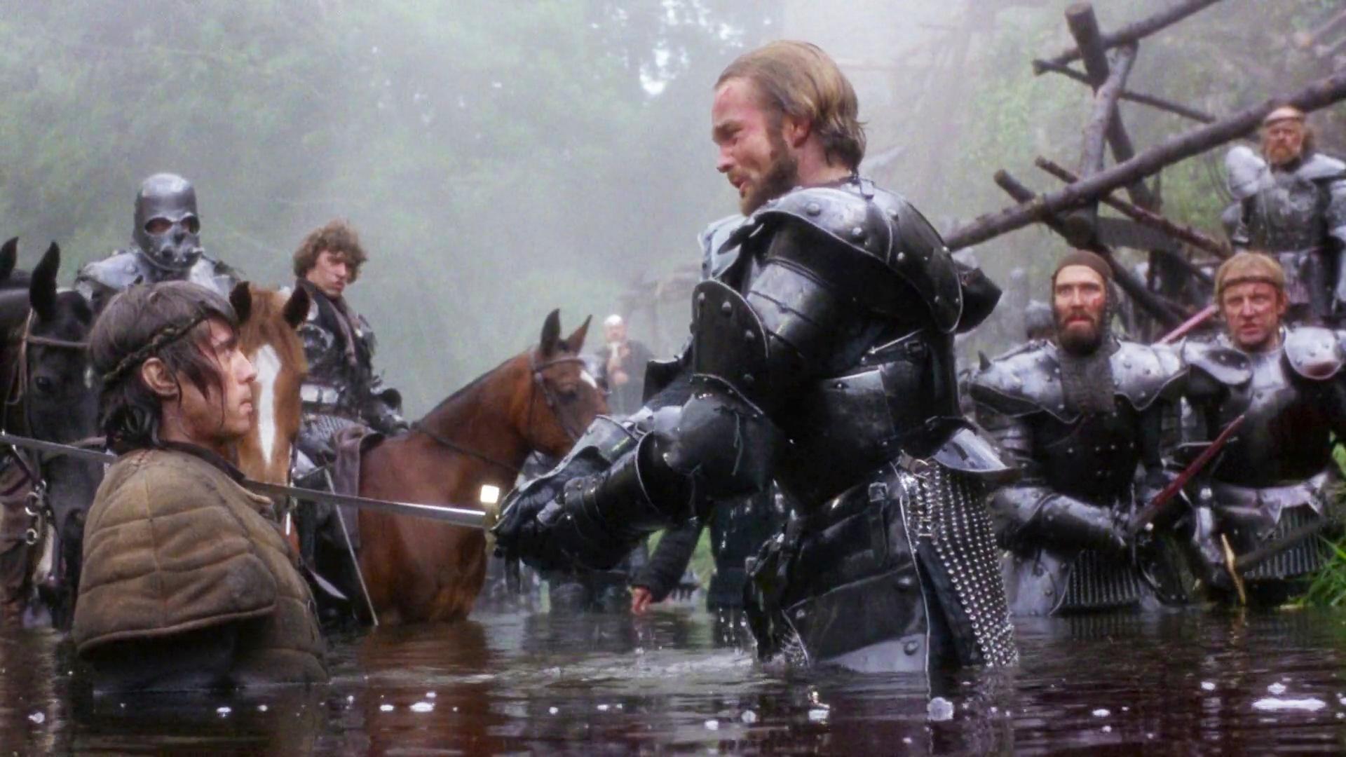 Scéna ze snímku Excalibur z roku 1981. (Orion Pictures)