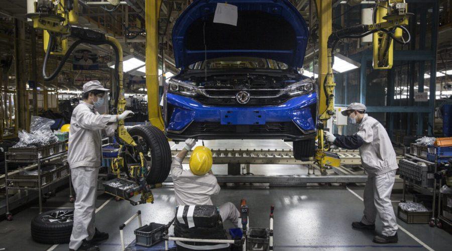 automobilovy prumysl čína koronavirus
