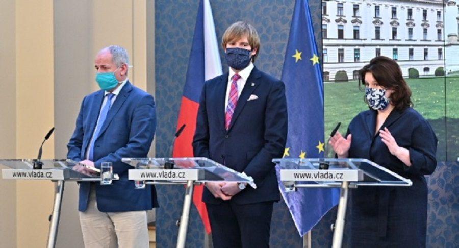 Vláda navrhla zvýšení ošetřovného a potvrdila od pondělí částečné uvolnění některých opatření, 17. dubna 2020. (Vlada.cz)