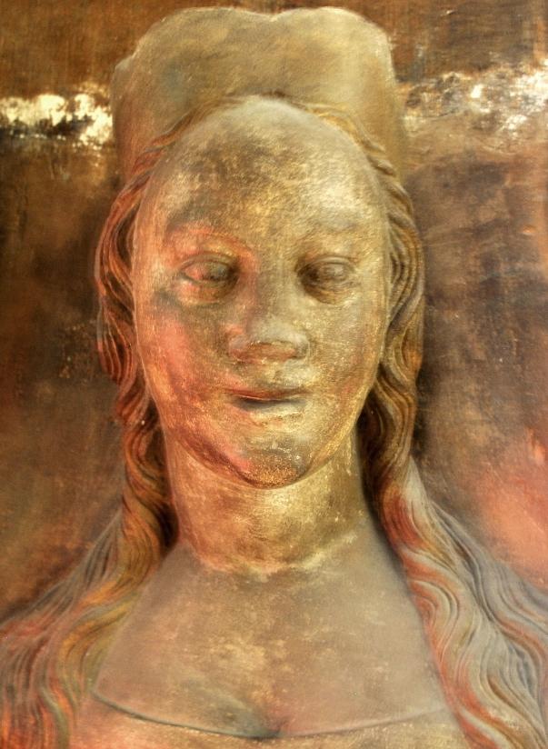 Busta Anny Svídnické v Katedrále Sv. Víta.