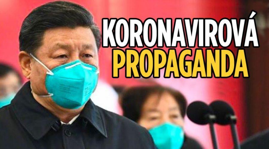 koronavirus čína Propaganda